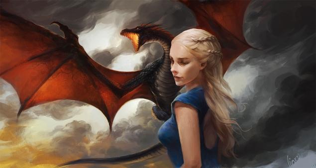 daenerys dibujo
